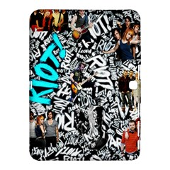 Panic! At The Disco College Samsung Galaxy Tab 4 (10 1 ) Hardshell Case  by Onesevenart
