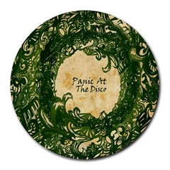 Panic At The Disco Round Mousepads by Onesevenart