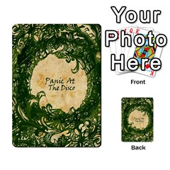 Panic At The Disco Multi Purpose Cards (rectangle)  by Onesevenart
