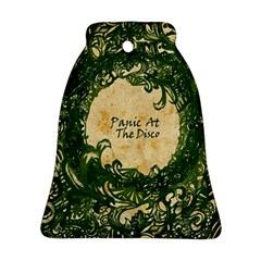 Panic At The Disco Bell Ornament (2 Sides) by Onesevenart