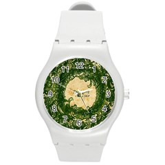 Panic At The Disco Round Plastic Sport Watch (m) by Onesevenart