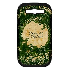 Panic At The Disco Samsung Galaxy S Iii Hardshell Case (pc+silicone) by Onesevenart