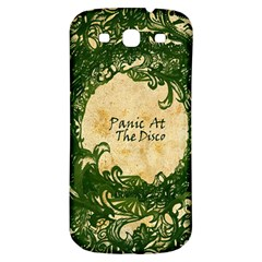 Panic At The Disco Samsung Galaxy S3 S Iii Classic Hardshell Back Case by Onesevenart