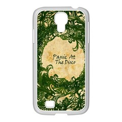 Panic At The Disco Samsung Galaxy S4 I9500/ I9505 Case (white) by Onesevenart