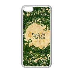 Panic At The Disco Apple Iphone 5c Seamless Case (white) by Onesevenart