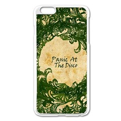 Panic At The Disco Apple Iphone 6 Plus/6s Plus Enamel White Case by Onesevenart