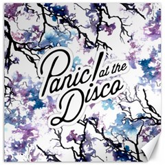 Panic! At The Disco Canvas 12  X 12   by Onesevenart
