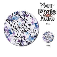 Panic! At The Disco Multi Purpose Cards (round)  by Onesevenart