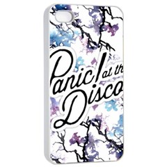 Panic! At The Disco Apple Iphone 4/4s Seamless Case (white) by Onesevenart