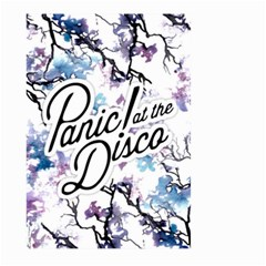 Panic! At The Disco Large Garden Flag (two Sides) by Onesevenart