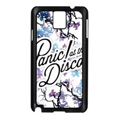 Panic! At The Disco Samsung Galaxy Note 3 N9005 Case (black) by Onesevenart