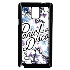 Panic! At The Disco Samsung Galaxy Note 4 Case (black) by Onesevenart