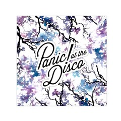 Panic! At The Disco Small Satin Scarf (square) by Onesevenart