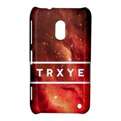 Trxye Galaxy Nebula Nokia Lumia 620 by Onesevenart