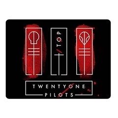 Twenty One Pilots Fleece Blanket (small) by Onesevenart