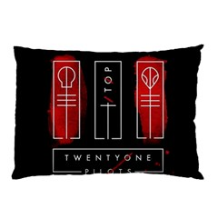 Twenty One Pilots Pillow Case (two Sides) by Onesevenart