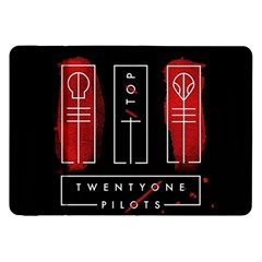 Twenty One Pilots Samsung Galaxy Tab 8 9  P7300 Flip Case by Onesevenart