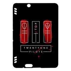 Twenty One Pilots Kindle Fire Hdx Hardshell Case by Onesevenart