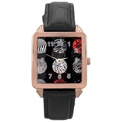 Twenty One Pilots Stressed Out Rose Gold Leather Watch  by Onesevenart