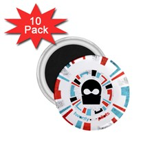 Twenty One Pilots 1 75  Magnets (10 Pack)  by Onesevenart