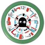 Twenty One Pilots Color Wall Clocks