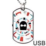 Twenty One Pilots Dog Tag USB Flash (One Side)