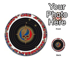 The Grateful Dead Multi Purpose Cards (round)  by Onesevenart