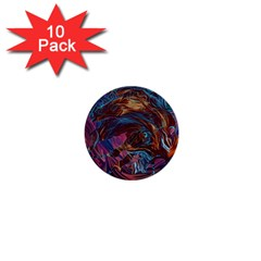 Voodoo Child Jimi Hendrix 1  Mini Buttons (10 Pack)  by Onesevenart