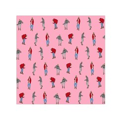 Hotline Bling Pattern Small Satin Scarf (square) by Onesevenart