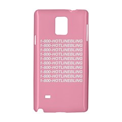 1 800 Hotline Bling Samsung Galaxy Note 4 Hardshell Case by Onesevenart