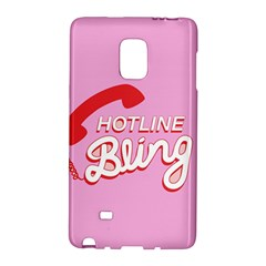 Hotline Bling Galaxy Note Edge by Onesevenart