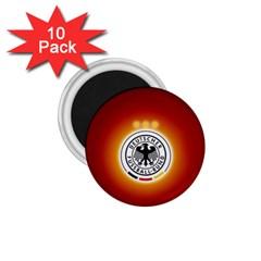 Deutschland Logos Football Not Soccer Germany National Team Nationalmannschaft 1 75  Magnets (10 Pack)  by Onesevenart