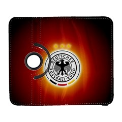 Deutschland Logos Football Not Soccer Germany National Team Nationalmannschaft Samsung Galaxy S  Iii Flip 360 Case by Onesevenart