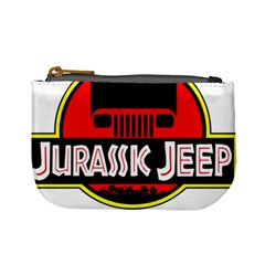 Jurassic Jeep Park Mini Coin Purses by Onesevenart