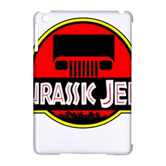 Jurassic Jeep Park Apple Ipad Mini Hardshell Case (compatible With Smart Cover) by Onesevenart