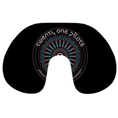 Twenty One Pilots Power To The Local Dreamder Travel Neck Pillows by Onesevenart