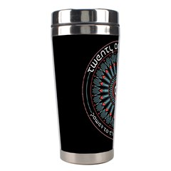Twenty One Pilots Power To The Local Dreamder Stainless Steel Travel Tumblers by Onesevenart