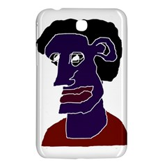 Man Portrait Caricature Samsung Galaxy Tab 3 (7 ) P3200 Hardshell Case  by dflcprints