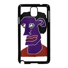 Man Portrait Caricature Samsung Galaxy Note 3 Neo Hardshell Case (black) by dflcprints