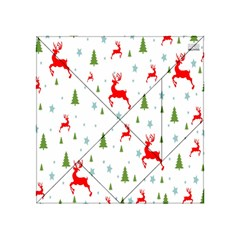 Christmas Pattern Acrylic Tangram Puzzle (4  x 4 ) by Zeze
