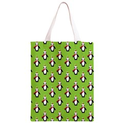 Christmas Penguin Penguins Cute  Classic Light Tote Bag by Zeze