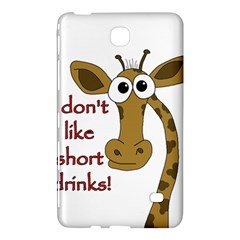 Giraffe Joke Samsung Galaxy Tab 4 (7 ) Hardshell Case  by Valentinaart