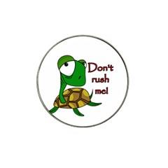 Turtle Joke Hat Clip Ball Marker by Valentinaart
