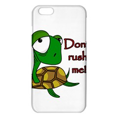 Turtle Joke Iphone 6 Plus/6s Plus Tpu Case by Valentinaart