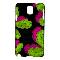 Decorative Leafs  Samsung Galaxy Note 3 N9005 Hardshell Case by Valentinaart