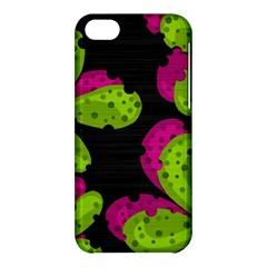 Decorative Leafs  Apple Iphone 5c Hardshell Case by Valentinaart