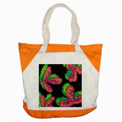 Colorful Leafs Accent Tote Bag by Valentinaart
