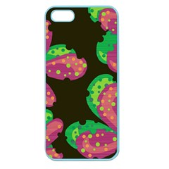 Colorful Leafs Apple Seamless Iphone 5 Case (color) by Valentinaart