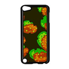 Autumn Leafs Apple Ipod Touch 5 Case (black) by Valentinaart