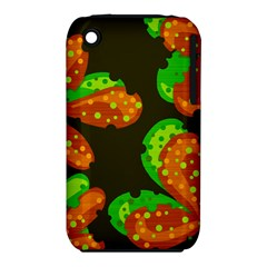Autumn Leafs Apple Iphone 3g/3gs Hardshell Case (pc+silicone)